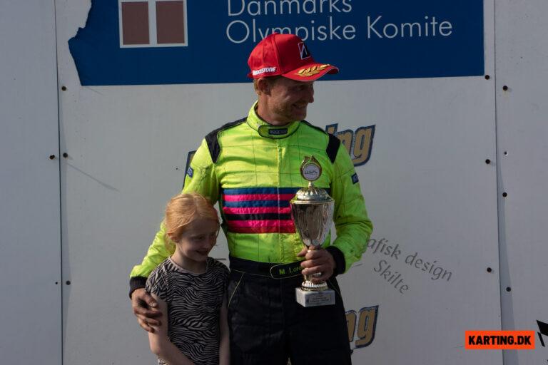 Fuld fart over feltet og sejr til Micki Lorentzen og Ove Christensen i KZ2 Gentleman
