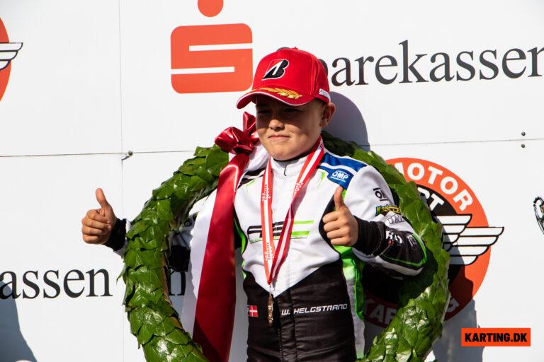 Romeo Haagh tager titlen som Danmarksmester for tredje år i træk