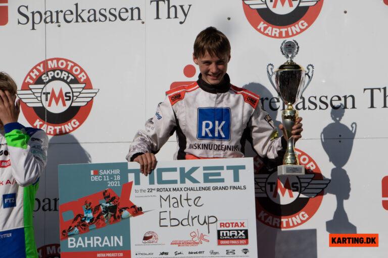 Malte Ebdrup vinder DM i Ekart og en billet til RMC i Bahrain