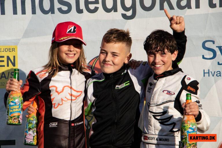 Romeo Haagh tager mesterskabssejr trods modgang